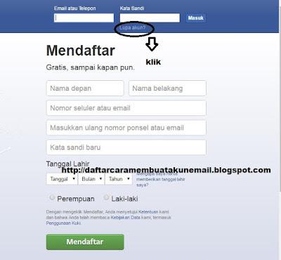 Cara Mudah Memperbaiki Akun FB Yang Tidak Bisa Dibuka