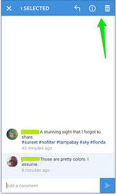 Cara Menghapus Komentar Instagram