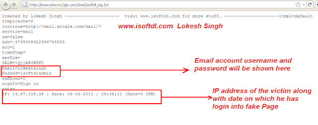 learn how to hack gmail account using phishing