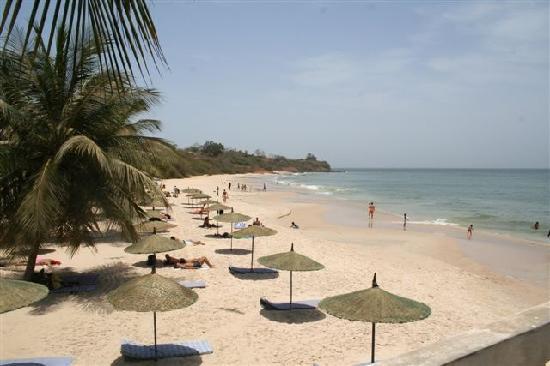 Plage voile d'or, une carte postale de Dakar : Plage, hôtel, restaurant, voile, or, sable, vacance, loisirs, sortie, détente, sports, LEUKSENEGAL, Dakar