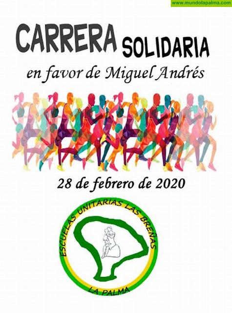 ESCUELAS UNITARIAS: Carrera Solidaria a favor de Miguel Andrés
