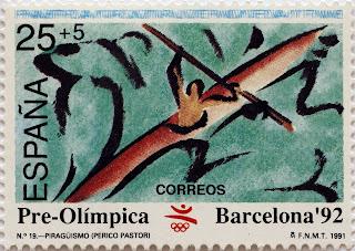 PRE-OLÍMPICA BARCELONA 92. PIRAGÜISMO