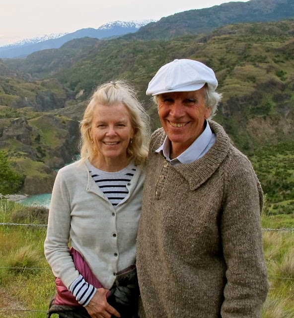 Doug and Kristine Tompkins in Chile