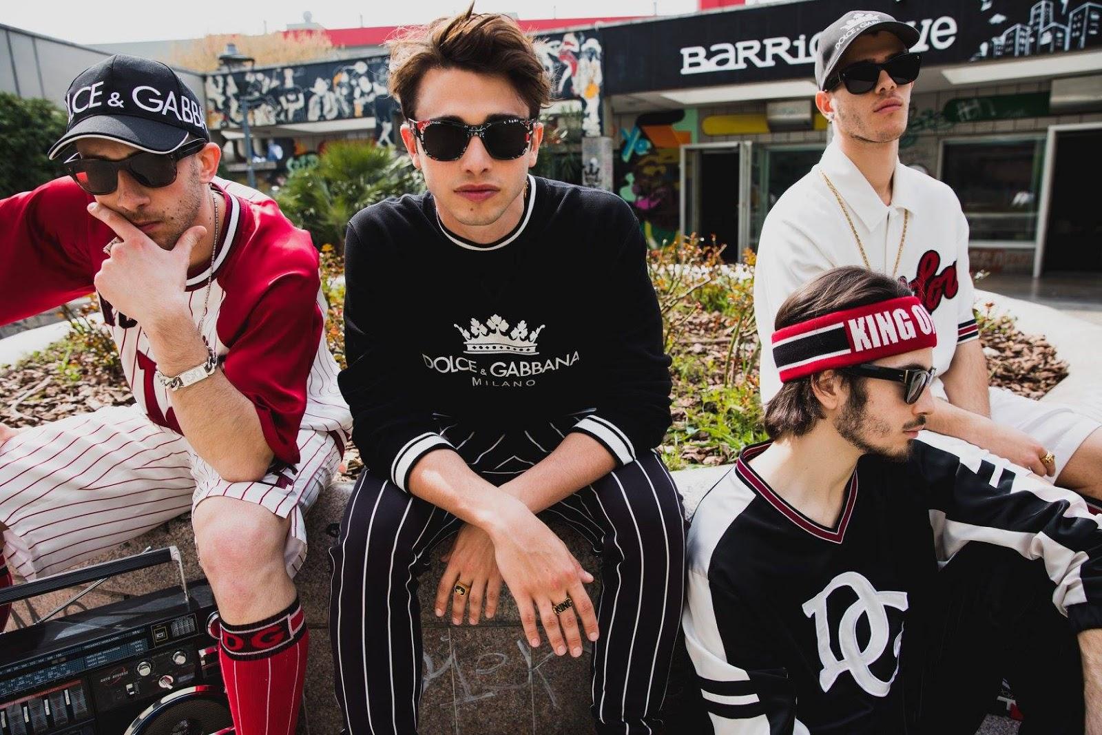 Dolce & Gabbana Graffiti Spring Summer 2018 Eyewear Campaign