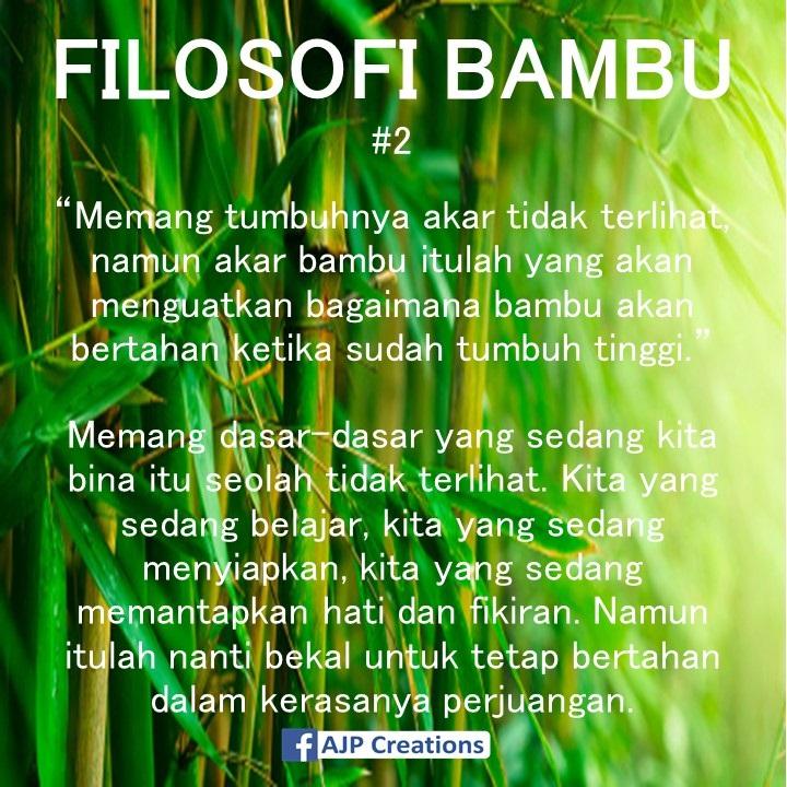 Kata Kata Bijak Folosofi Bambu Ajp Creations