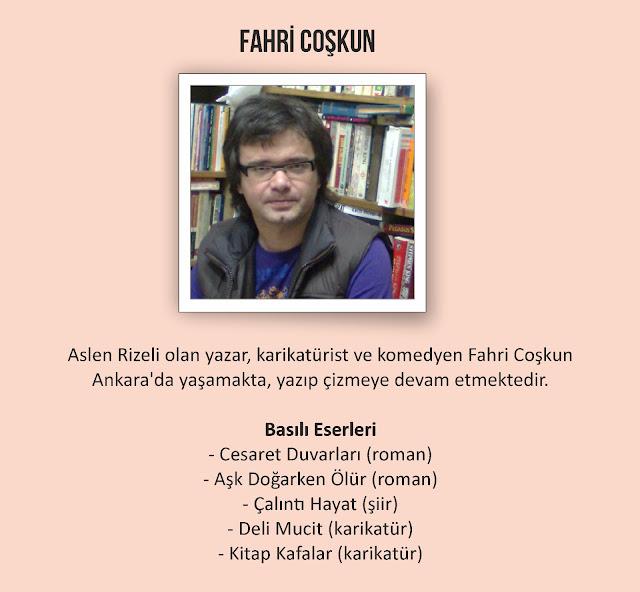 Yazar Fahri Coşkun