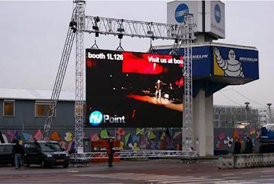 Nơi thi công màn hình led p4 ngoài trời chuyên nghiệp tại Bình Định