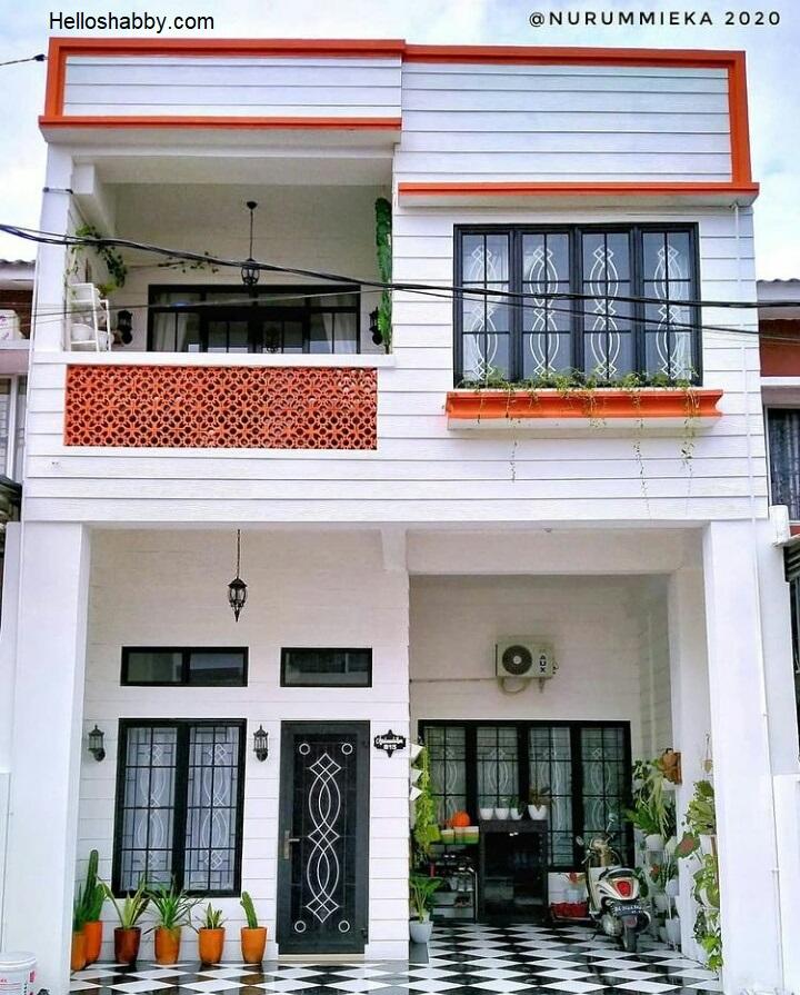 6 Desain Rumah Minimalis 2 Lantai Sederhana Fasad Rumah Bisa Anda Contoh Helloshabby Com Interior And Exterior Solutions