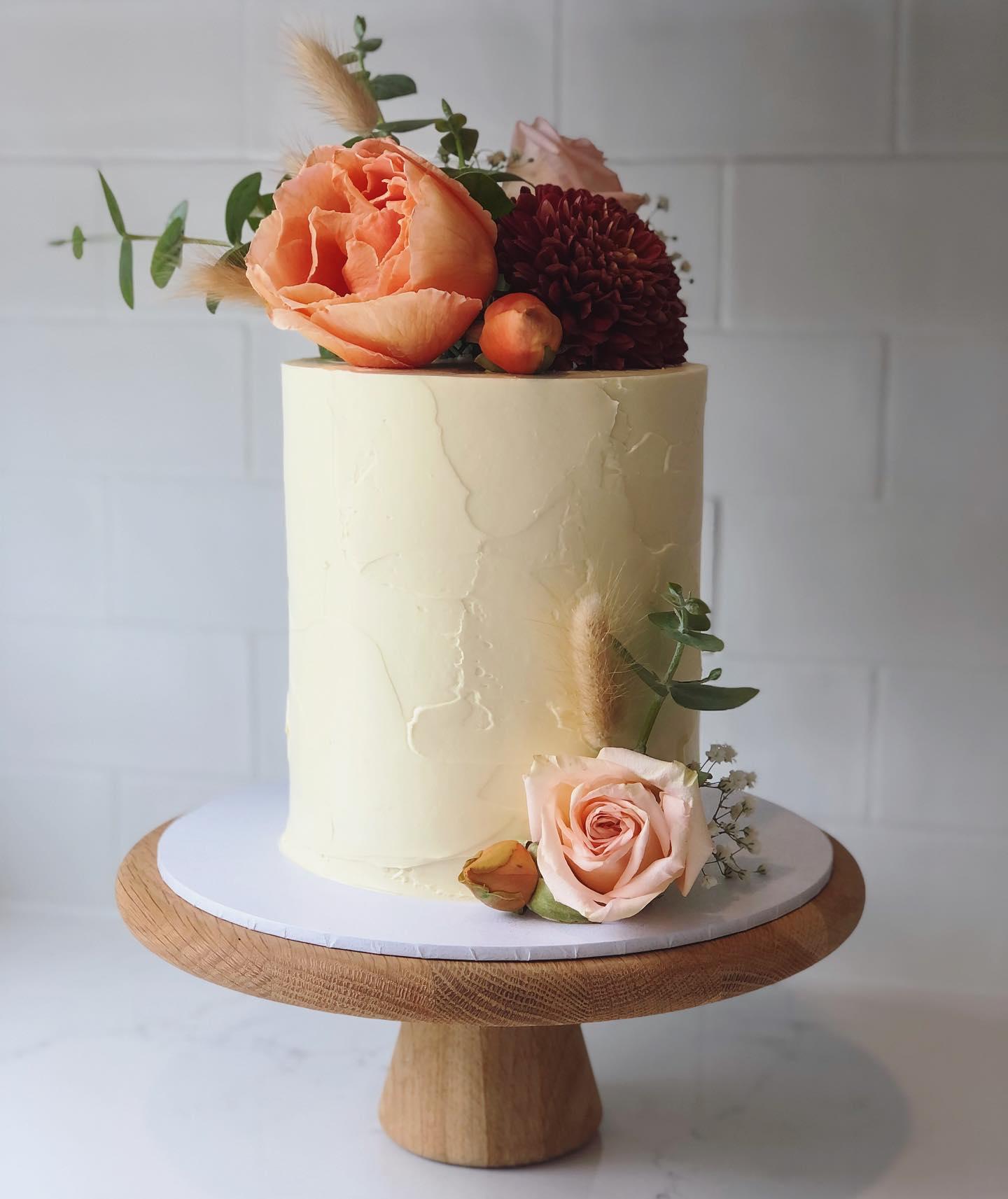 wedding cake designer bangalow nsw