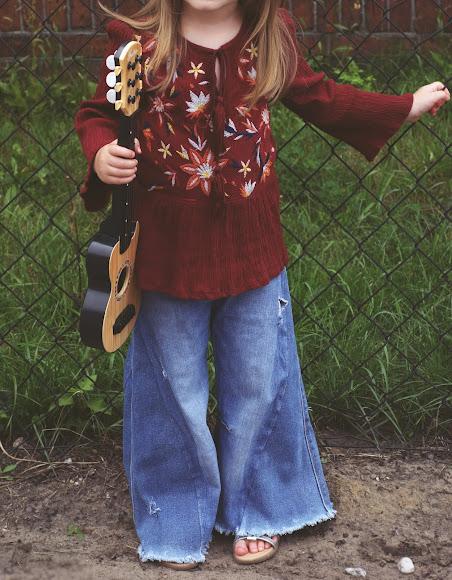 jak uszyć kostium hippie