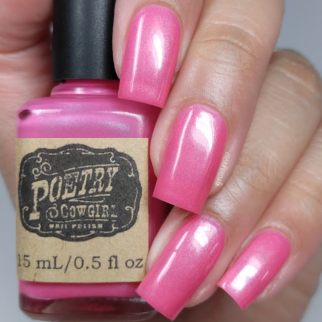 Poetry Cowgirl Nail Polish - Light in the Dark
