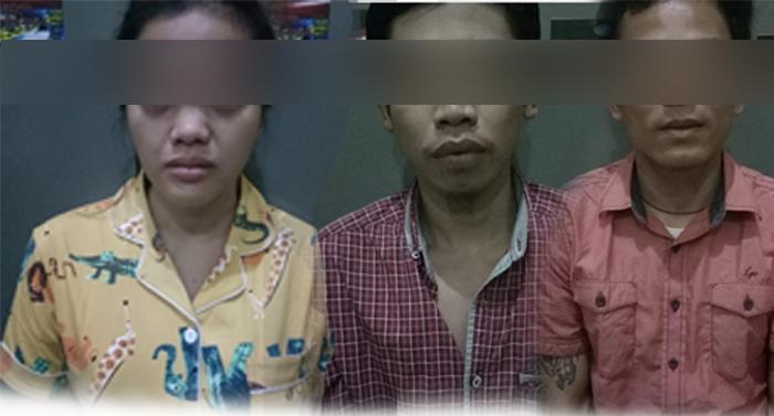Pesta Shabu, Dua Pemuda Bersama Seorang Wanita di Mesuji Ditangkap Polisi