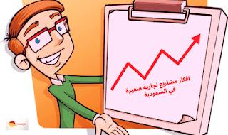 افكار مشاريع تجارية صغيرة في السعودية