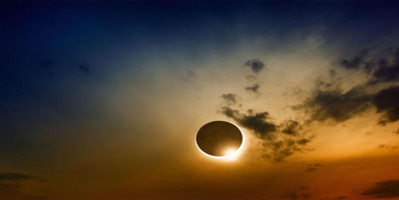 ما هو الكسوف الحلقي,annular eclipse