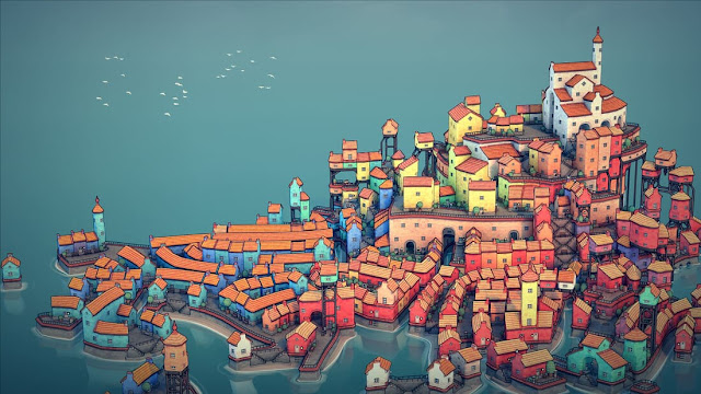 Imagem do Townscaper