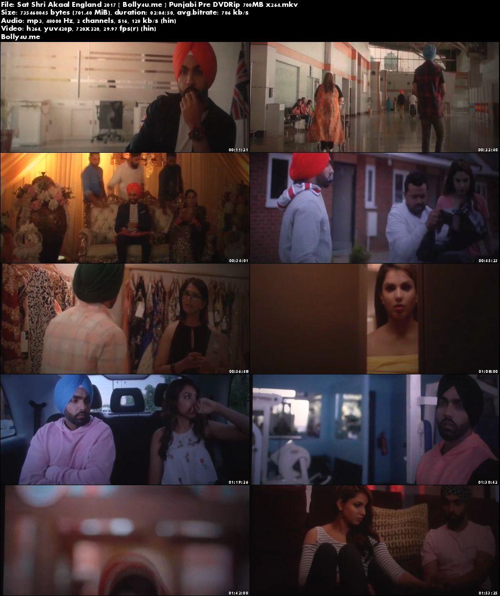 Sat Shri Akaal England 2017 Pre DVDRip 350MB Punjabi 480p Download