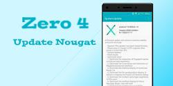 Infinix Zero 4 Akhirnya Sudah Dapat Update Android Nougat 7.0