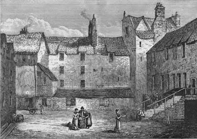 American tramp in Scotland
