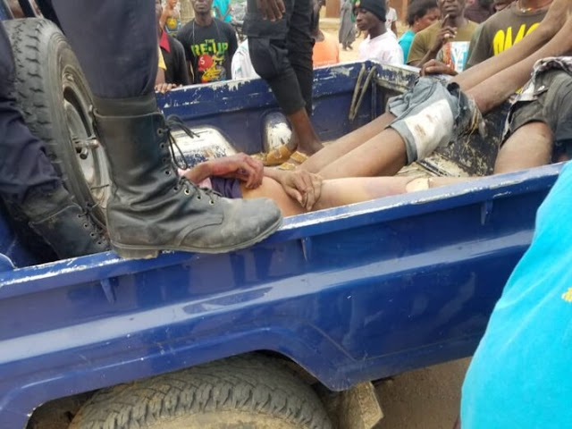 E/R: Two robbers beaten to pulp after robbing MoMo agent in broad daylight