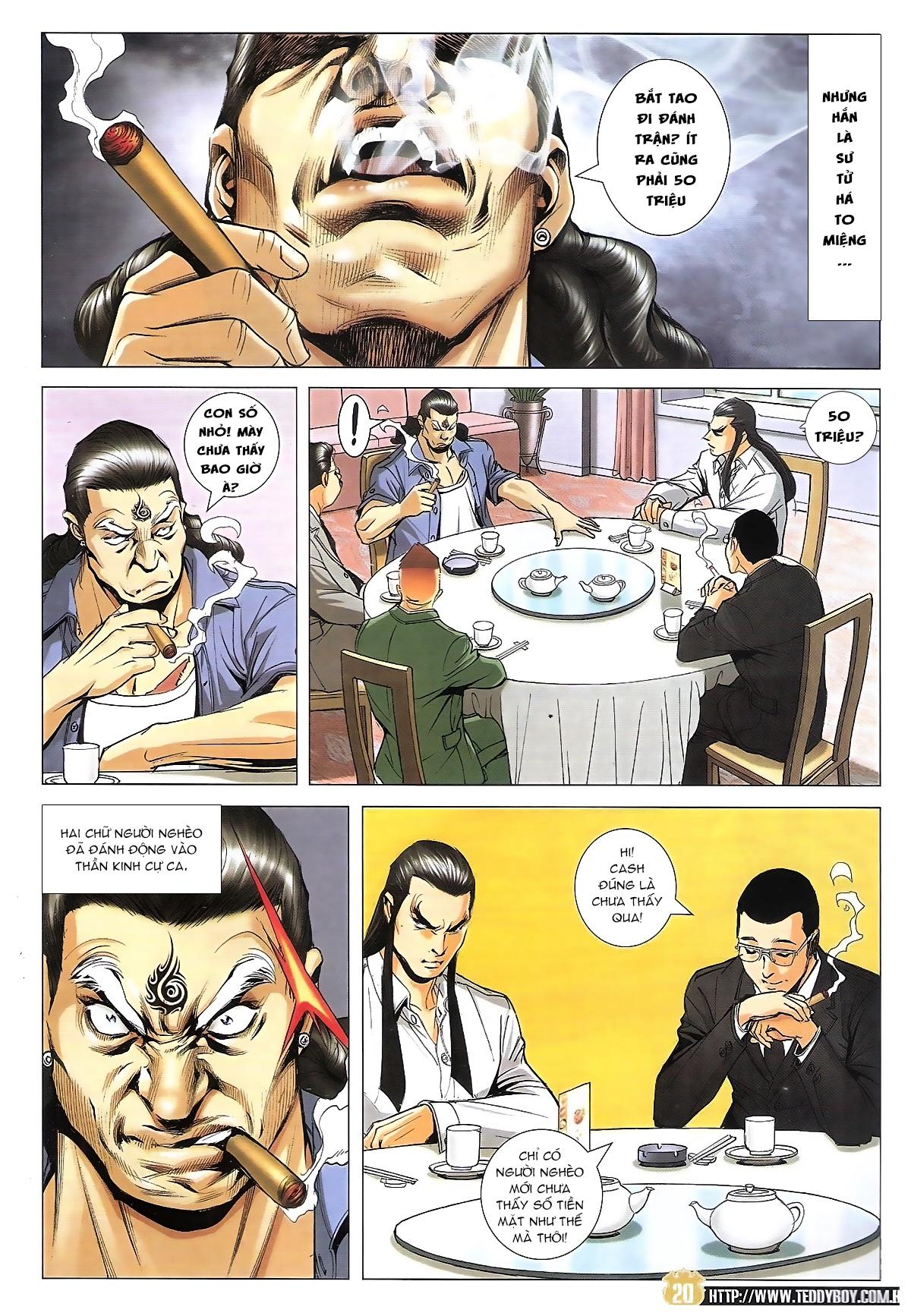 Người Trong Giang Hồ chapter 1822: tẩy của tiểu đông trang 19