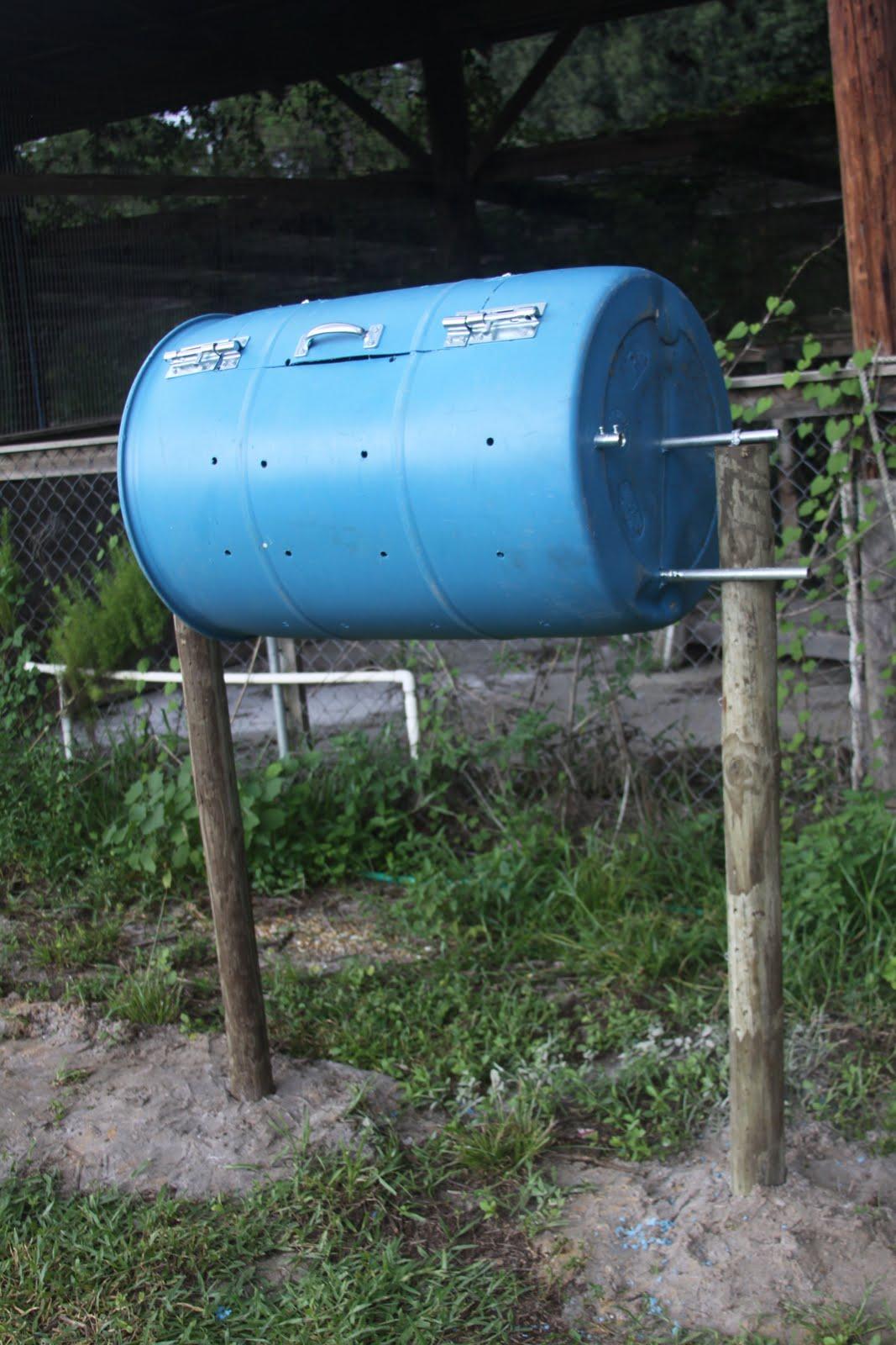 Homemade Compost Tumbler 37