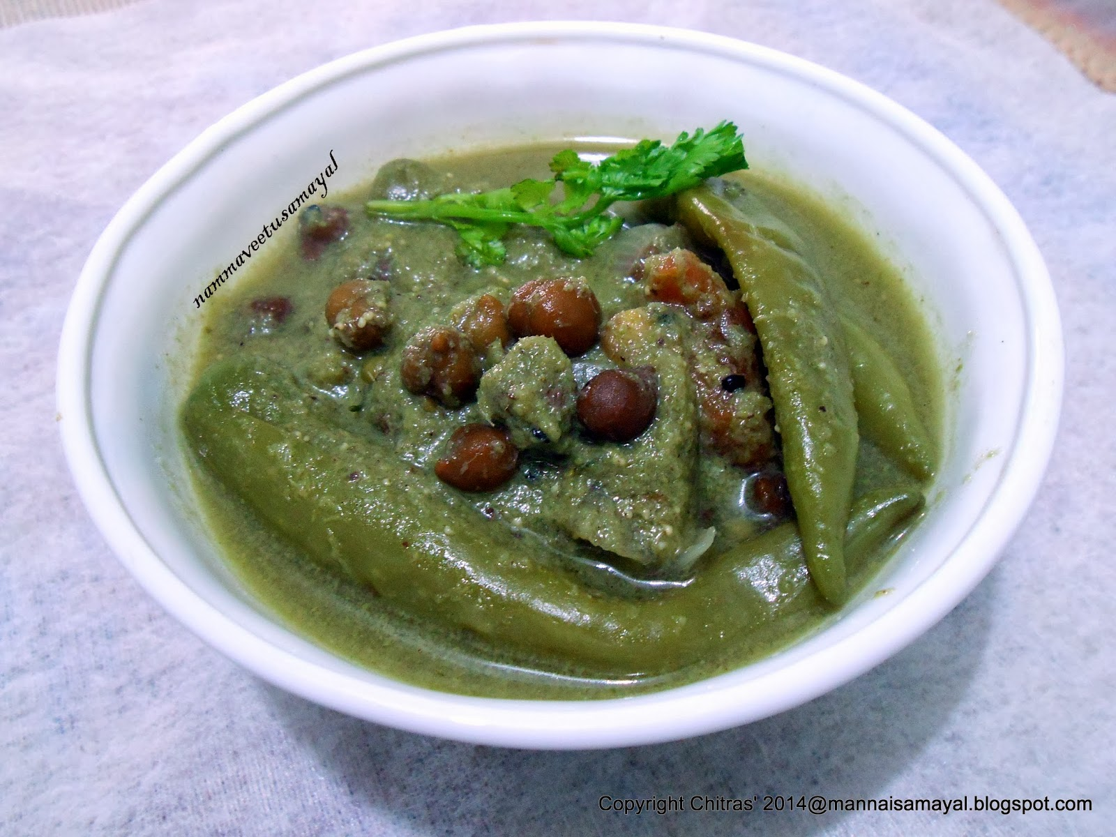 Bajji Green chilly Gravy