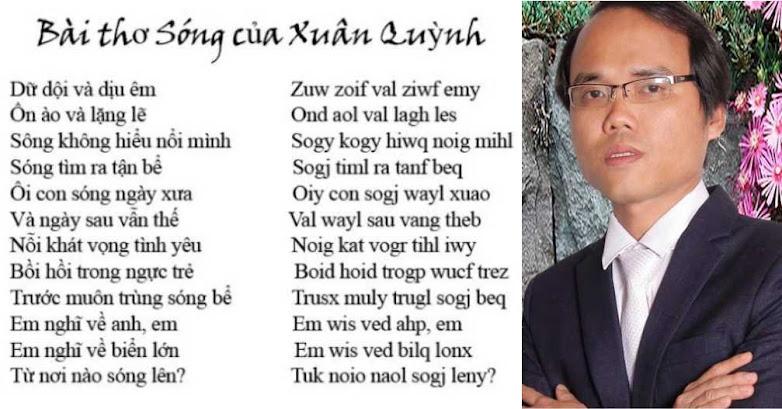 Tác giả Chữ Việt Nam song song 4.0: in sách và vận động dạy chữ mới ở trường THPT và đại học