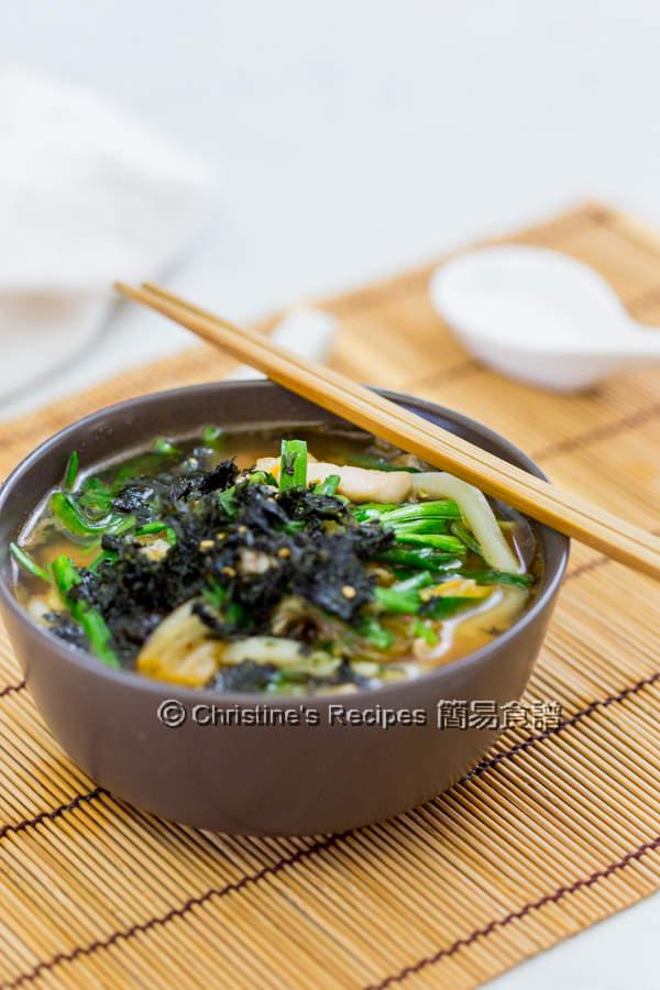 泡菜雞肉湯烏冬 Kimchi Chicken Udon Soup03