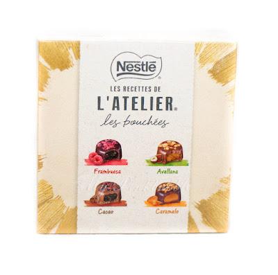 Nestlé les recettes de l'atelier les Bouchées