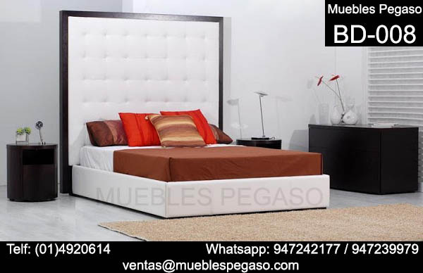 muebles pegaso  camas tapizadas modernas