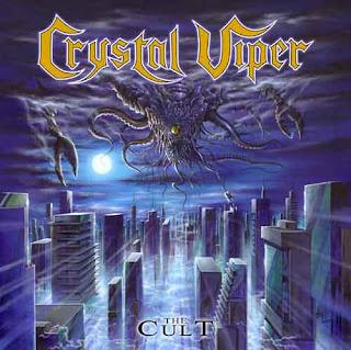 """Ο δίσκος των Crystal Viper """"The Cult"""""""