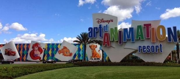 A Walk Around Disney S Art Of Animation Resort At Walt