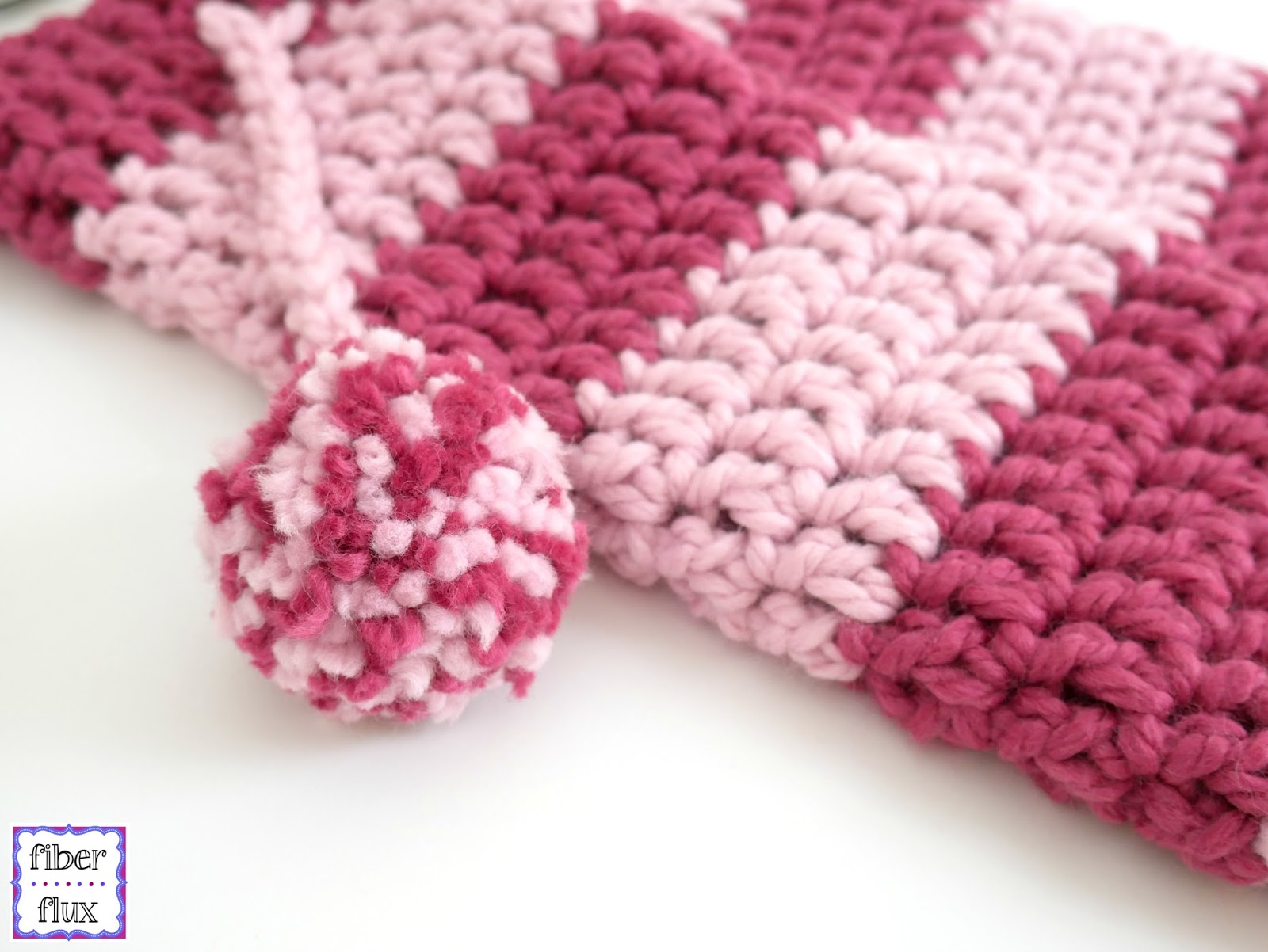 Fiber Flux Free Crochet Pattern Strawberry Blossom Slipper Socks
