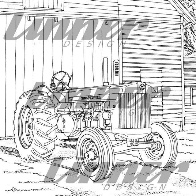 I Illustrated Almost A Third Of The Book Art Tractor Published In 2017 By Octane Press