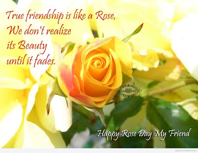 rose day messages 2016 for your friends