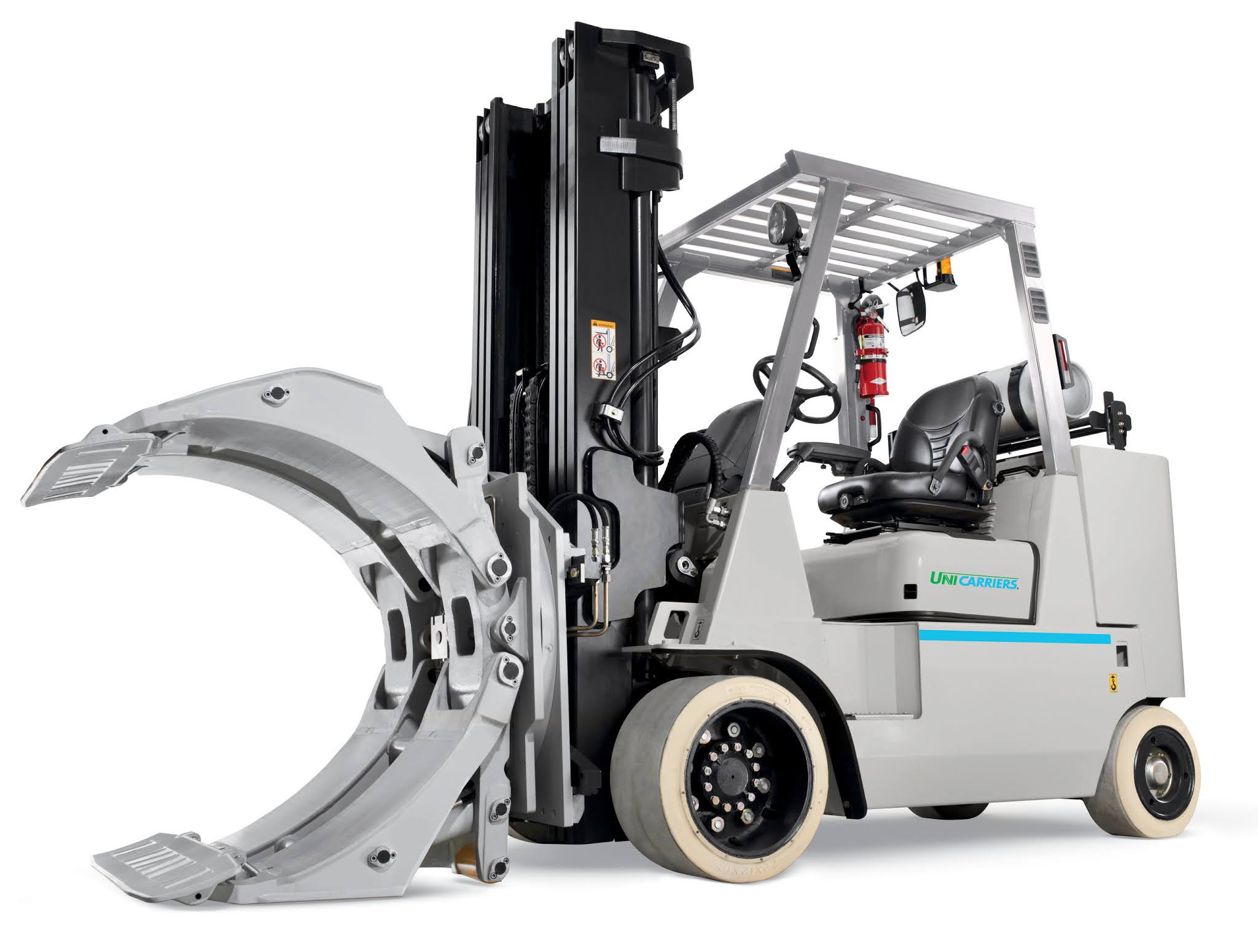 Mitsubishi Logisnext Americas Group Launches New UniCarriers Forklift Heavy-Duty Cushion Truck