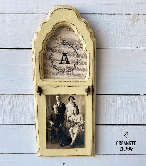 12 Repurposed/Upcycled Thrifted/Garage Sale/Free Photo Display Ideas