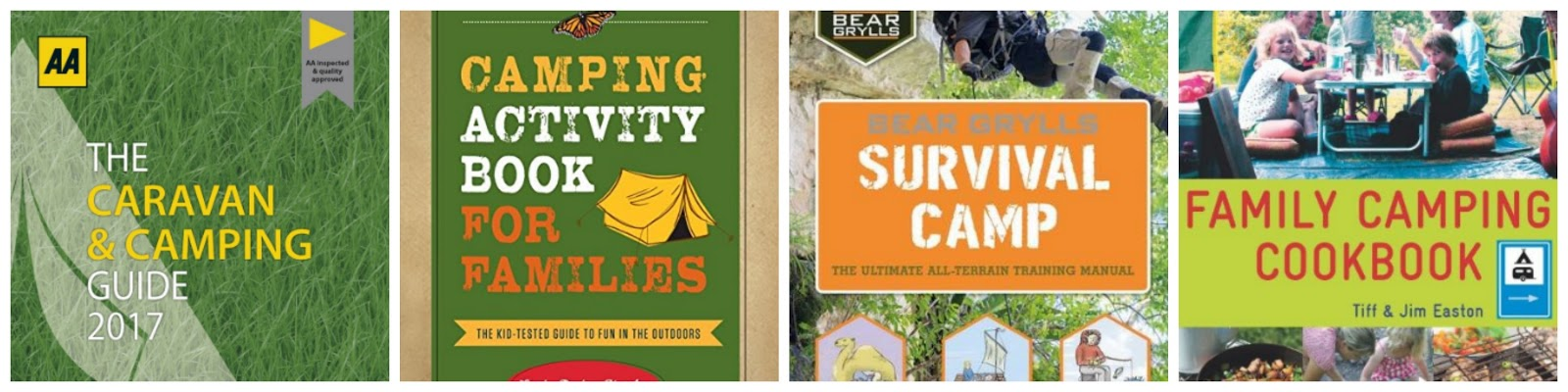 Christmas Gift Ideas for families who love Camping - best camping books 2016