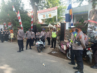 Awasi Prokes di Kampanye Paslon, Polres Pelabuhan Makassar Perketat Pengamanan