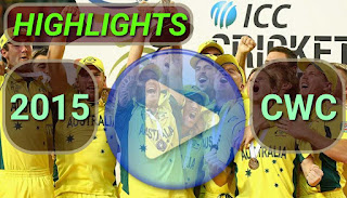 ICC Cricket World Cup 2015 Video Highlights