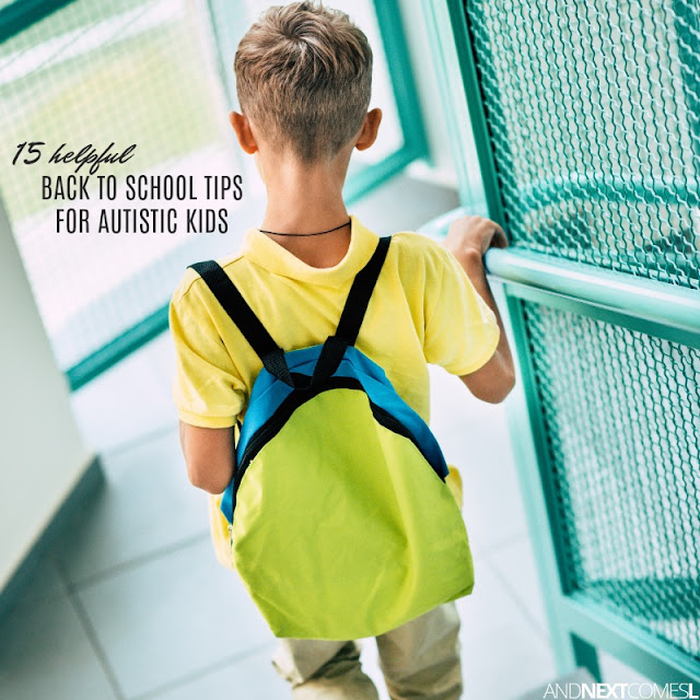 Back to school autism tips