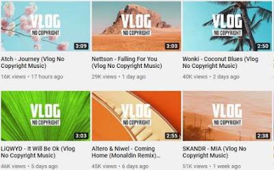 situs download backsound gratis -Vlog No Copyright Music