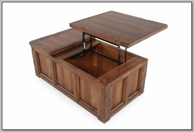 Lift Up Top Coffee Table Design