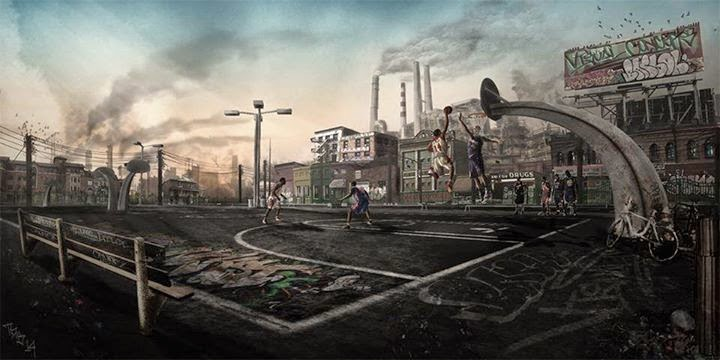 NBA 2K15 Rivet City Rough Riders Park