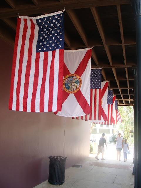 Flaggen des Südens in Tallahassee Florida