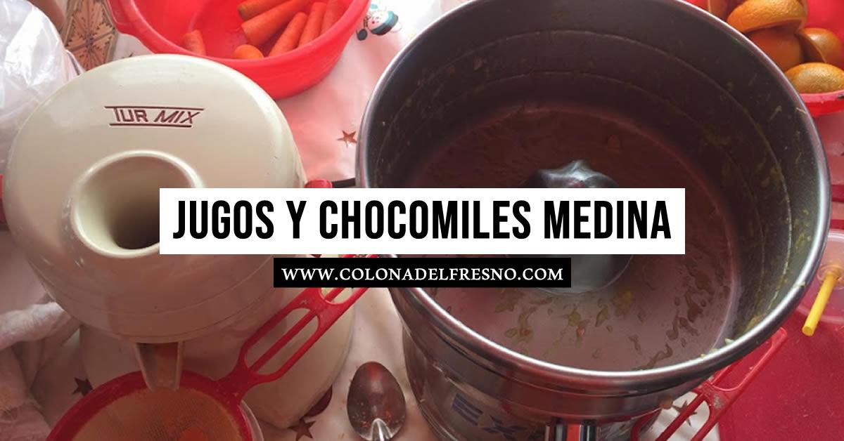 colonia del fresno, fresno y nogal, jugos y chocomiles