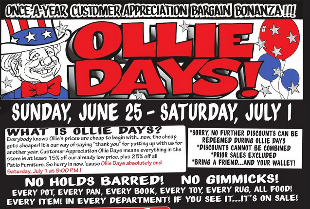 photo about Ollies Coupons Printable named Generating Finishes Meet up with: Ollies Deal Outlet: 15% off this 7 days