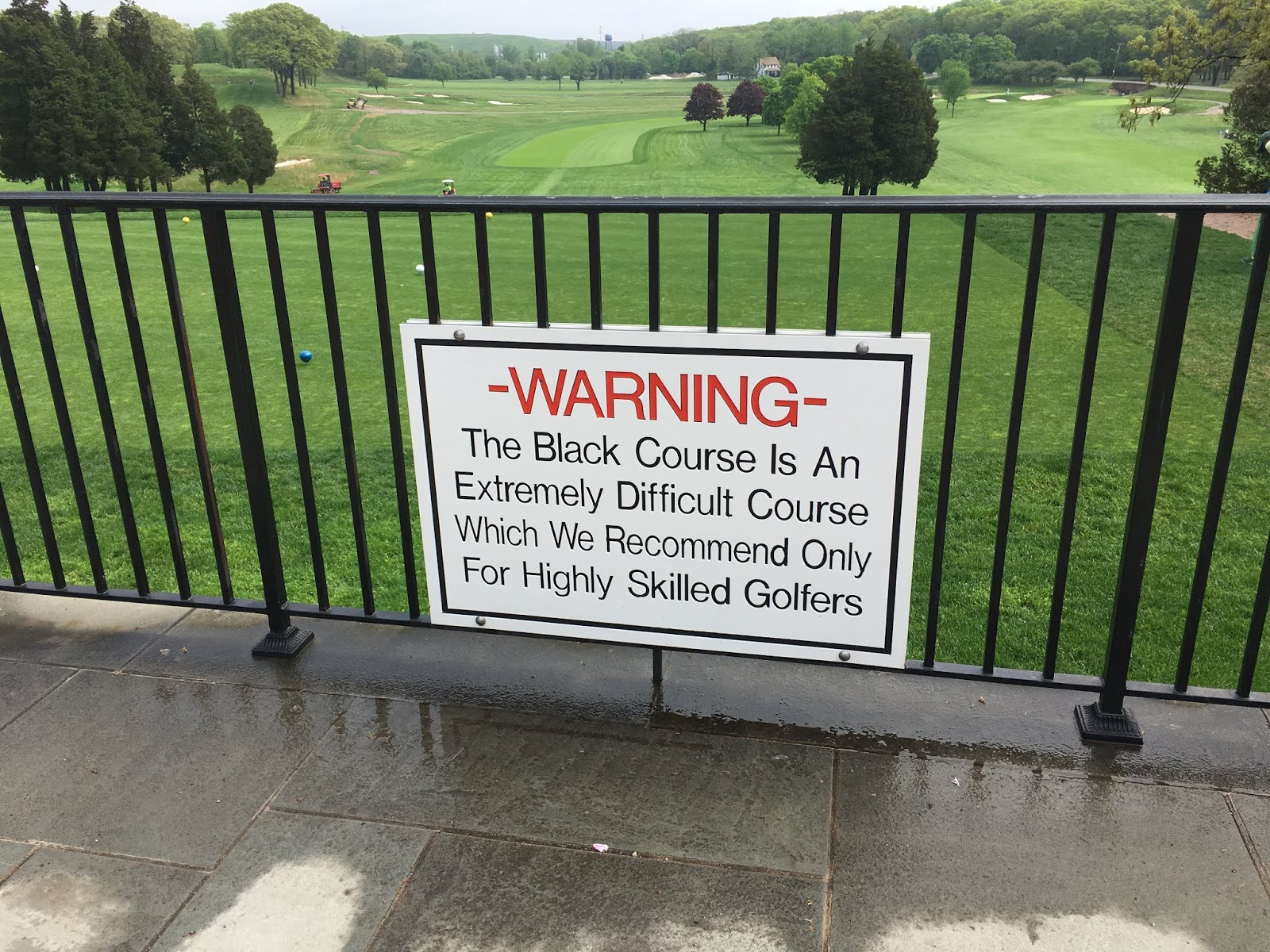 The 1 Writer In Golf Bethpage Black Golf Course Review The Front 9 2019 Pga Championship