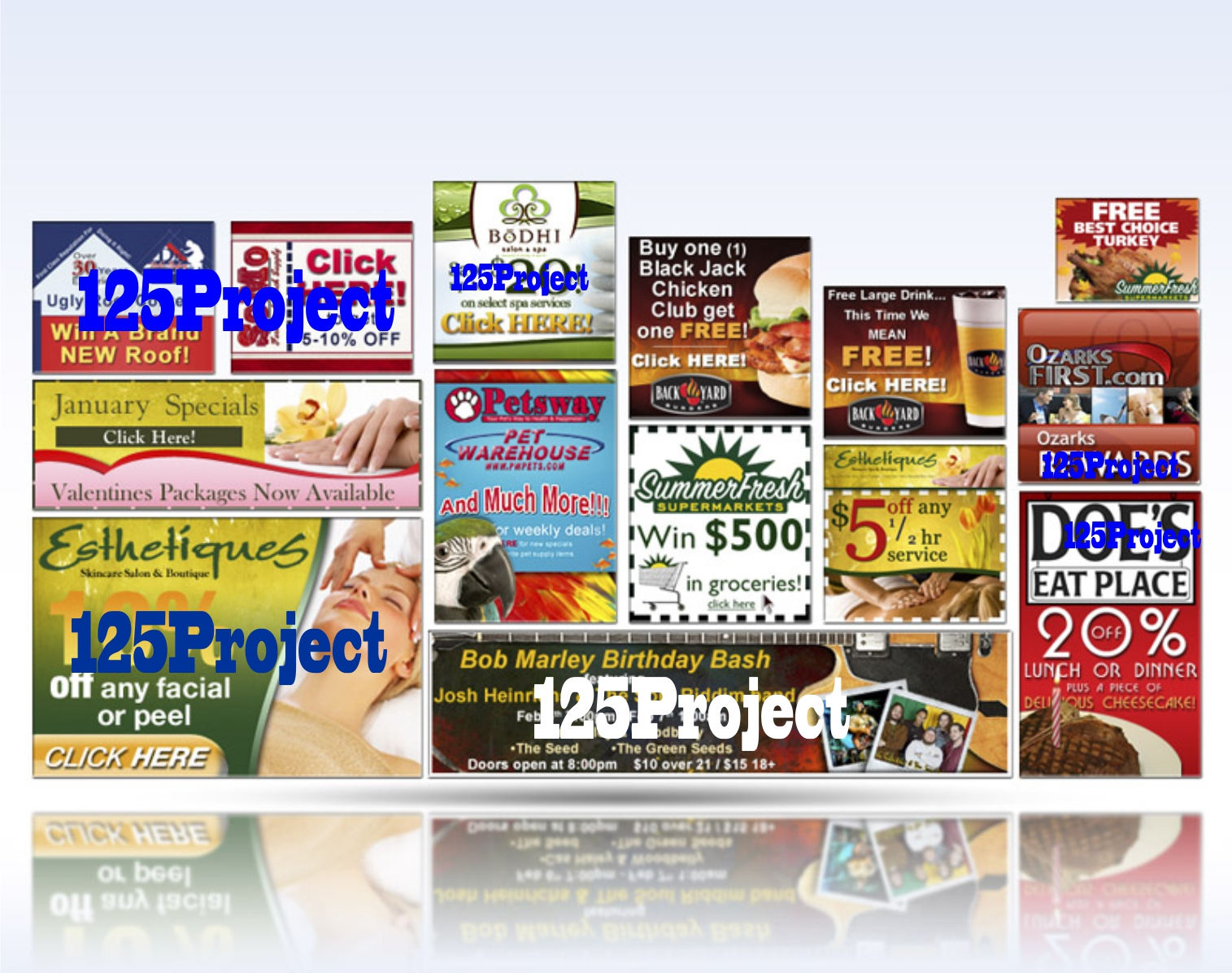 Contoh Banner Iklan Photoshop Blogefeller