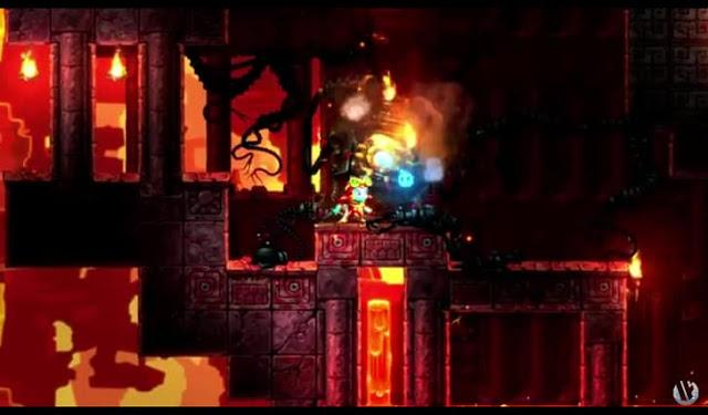 Third screenshot from SteamWorld trailer